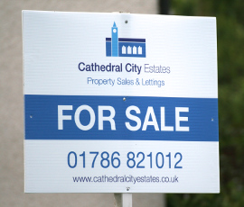 Cathedral City For Sale sign